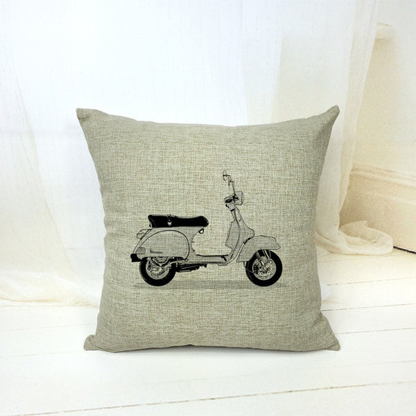 Vintage Cotton Linen Pillow Case - The Guitar Yard