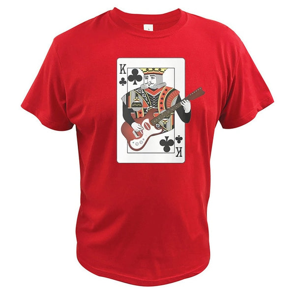 King of Clubs Guitar Tee - The Guitar Yard