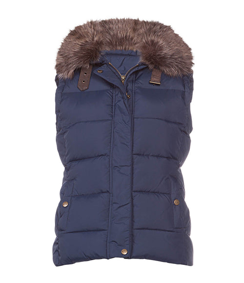 Baleno Ladies Beverly Padded Gilet - Navy