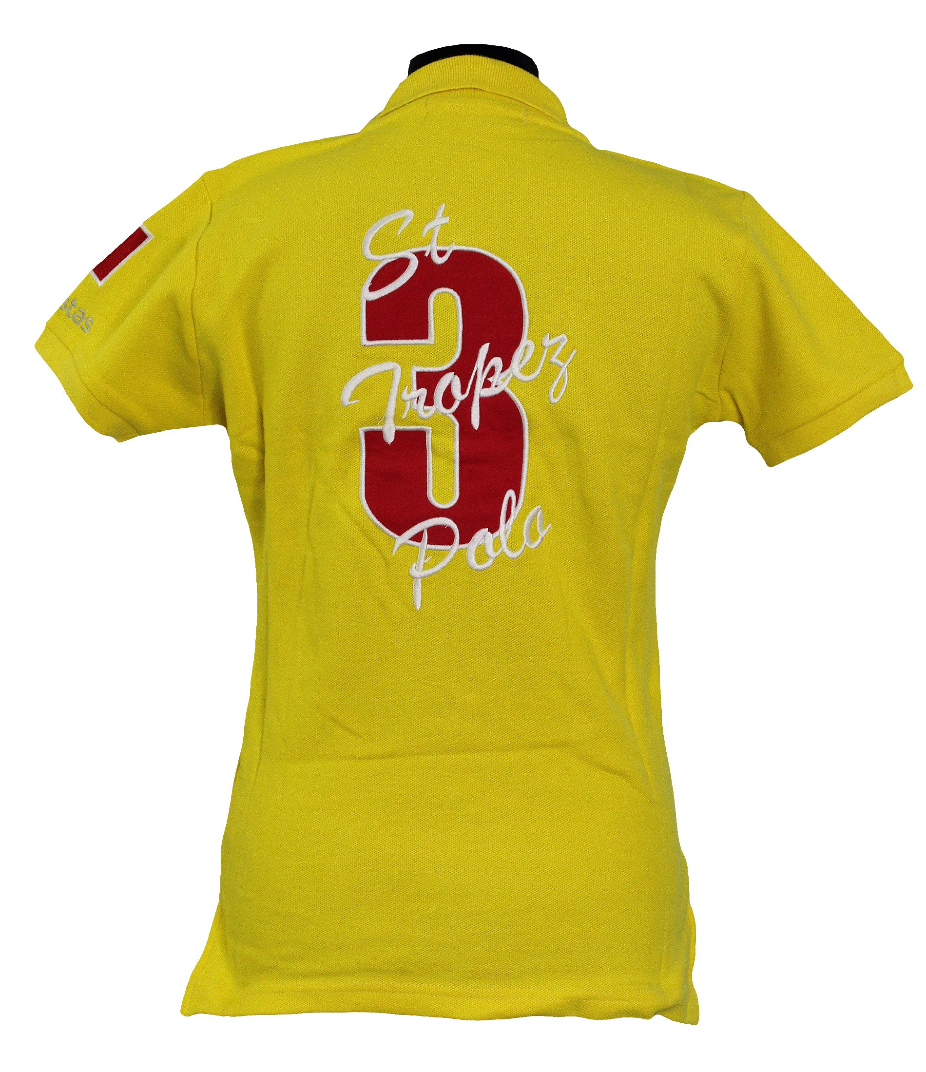Polistas Ladies st.Tropez Yellow Polo Shirt RRP£99.95 NOW £25.00