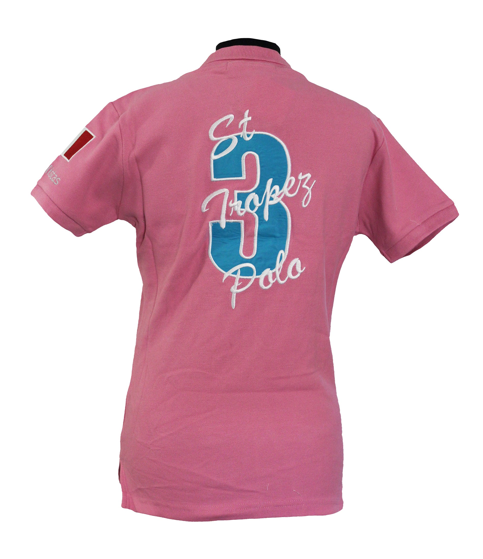 Polistas Ladies st.Tropez Pink Polo Shirt RRP£99.95 NOW £25.00