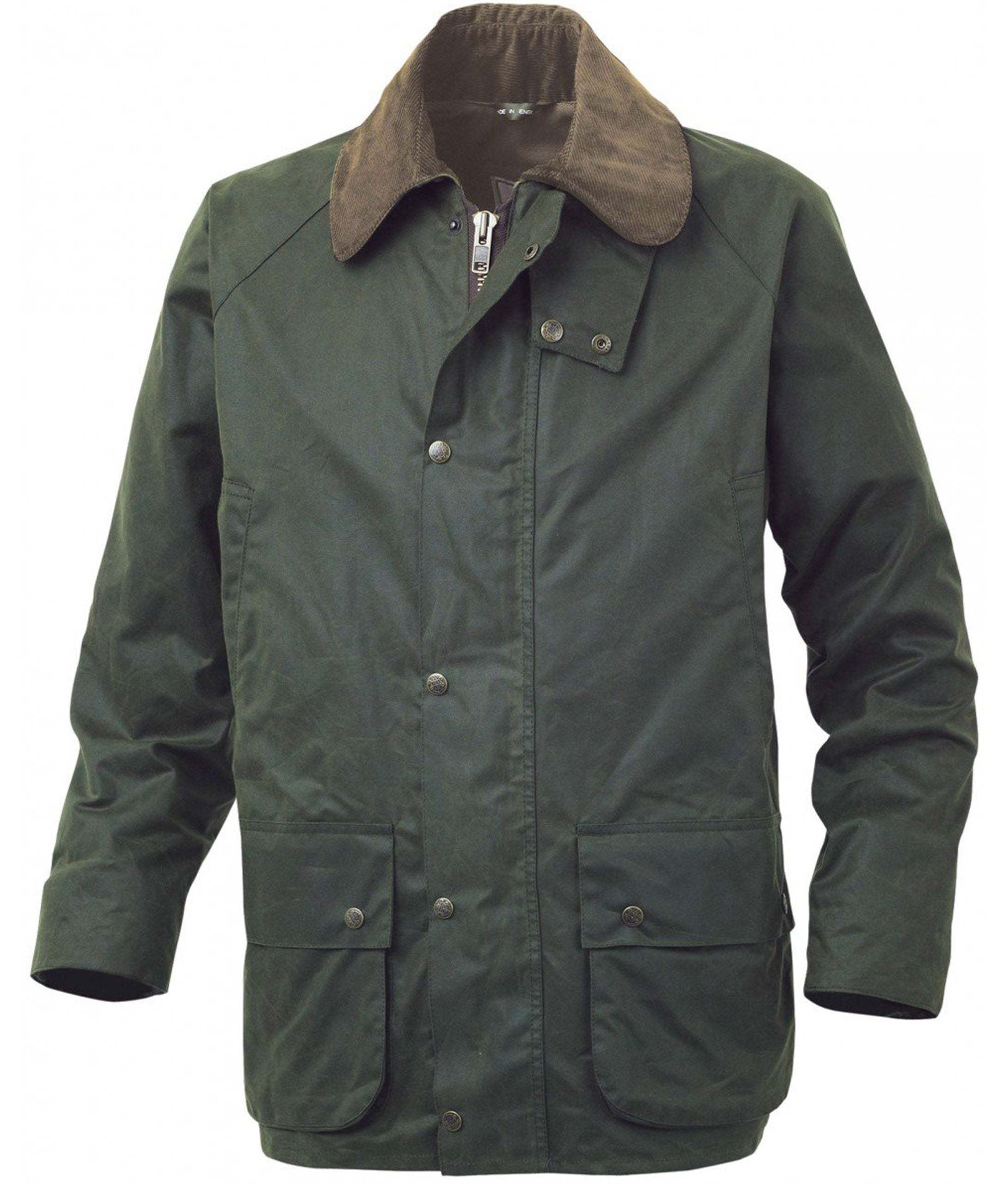 985b0d31bfe21 Alan Paine Sandhurst Hunter Wax Jacket - Olive – UK Covers