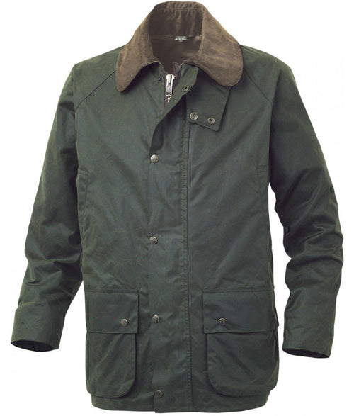 Alan Paine Sandhurst Hunter Wax Jacket - Olive
