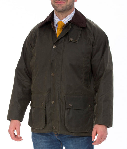 Alan Paine Sandhurst Hunter Wax Jacket - Brown
