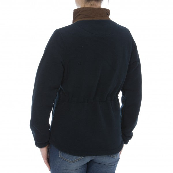 Alan Paine Aylsham  Ladies Fleece Jacket - Dark Navy