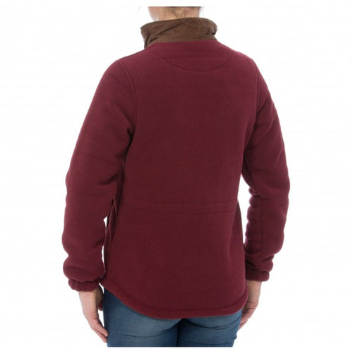 Alan Paine Aylsham Fleece Jacket - Bordeaux
