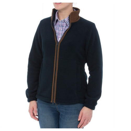 Alan Paine Aylsham  Fleece Jacket - Navy
