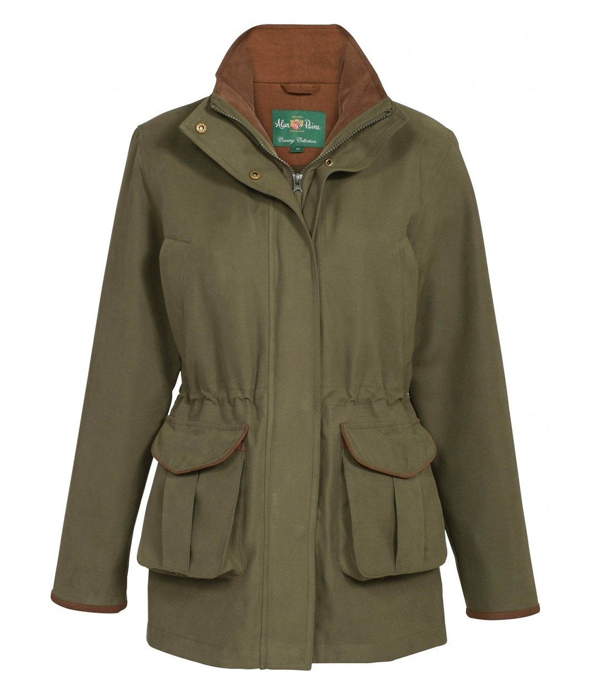 Alan Paine Berwick Ladies Waterproof Shooting Coat RRP £219.95