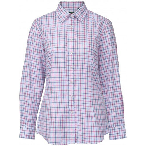 Alan Paine Bromford Ladies Shirt - Pink/Blue