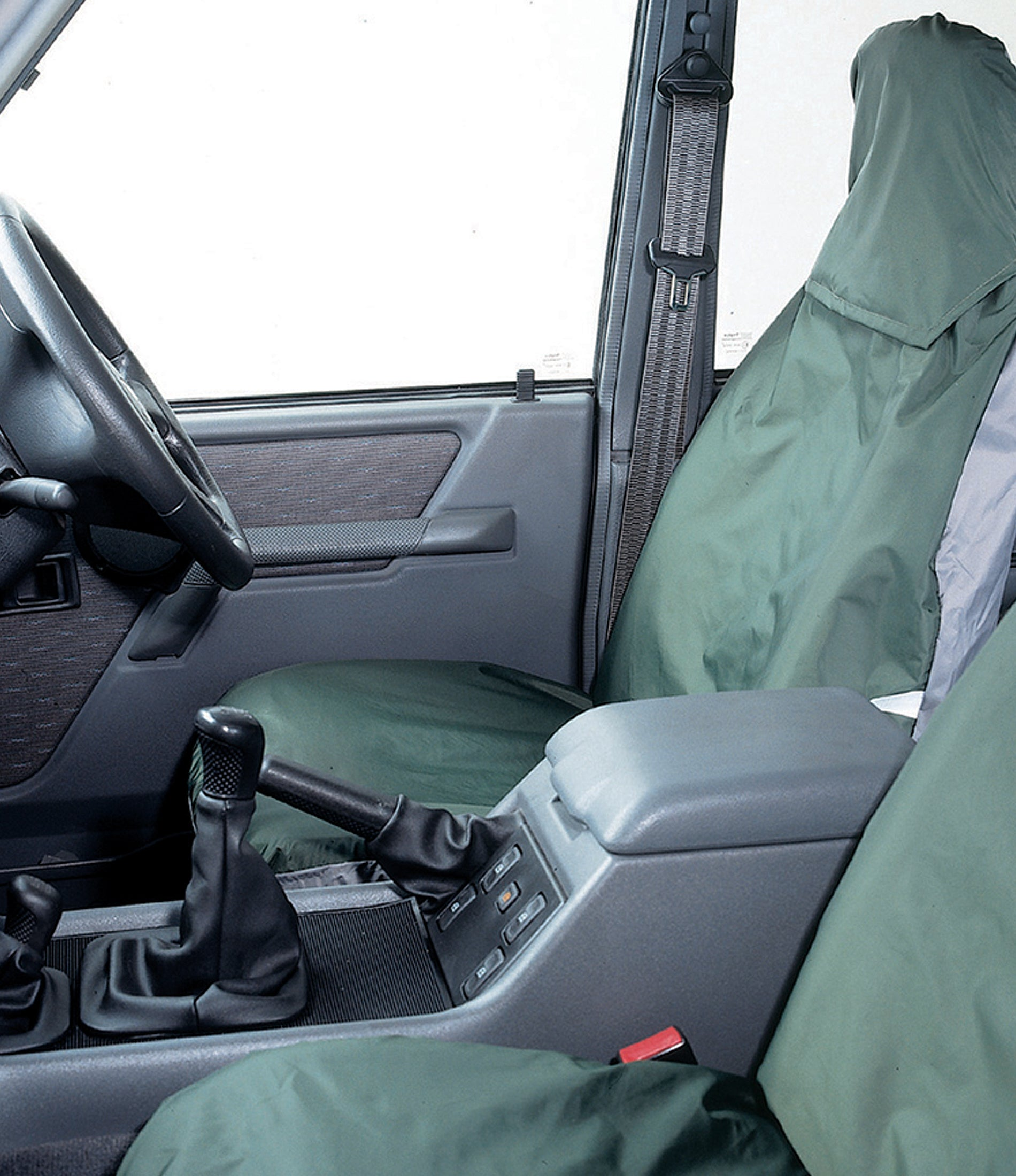 Universal Front Pair Seat Covers - COLOUR GREY