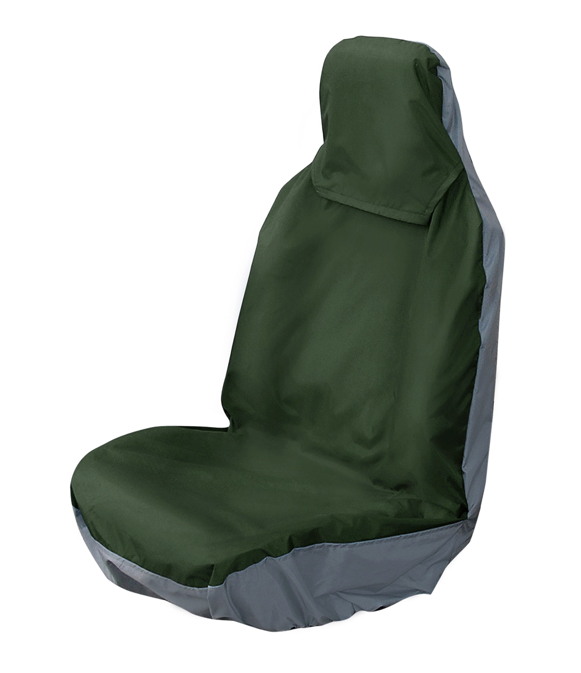 Universal Front Pair Seat Covers - COLOUR GREEN