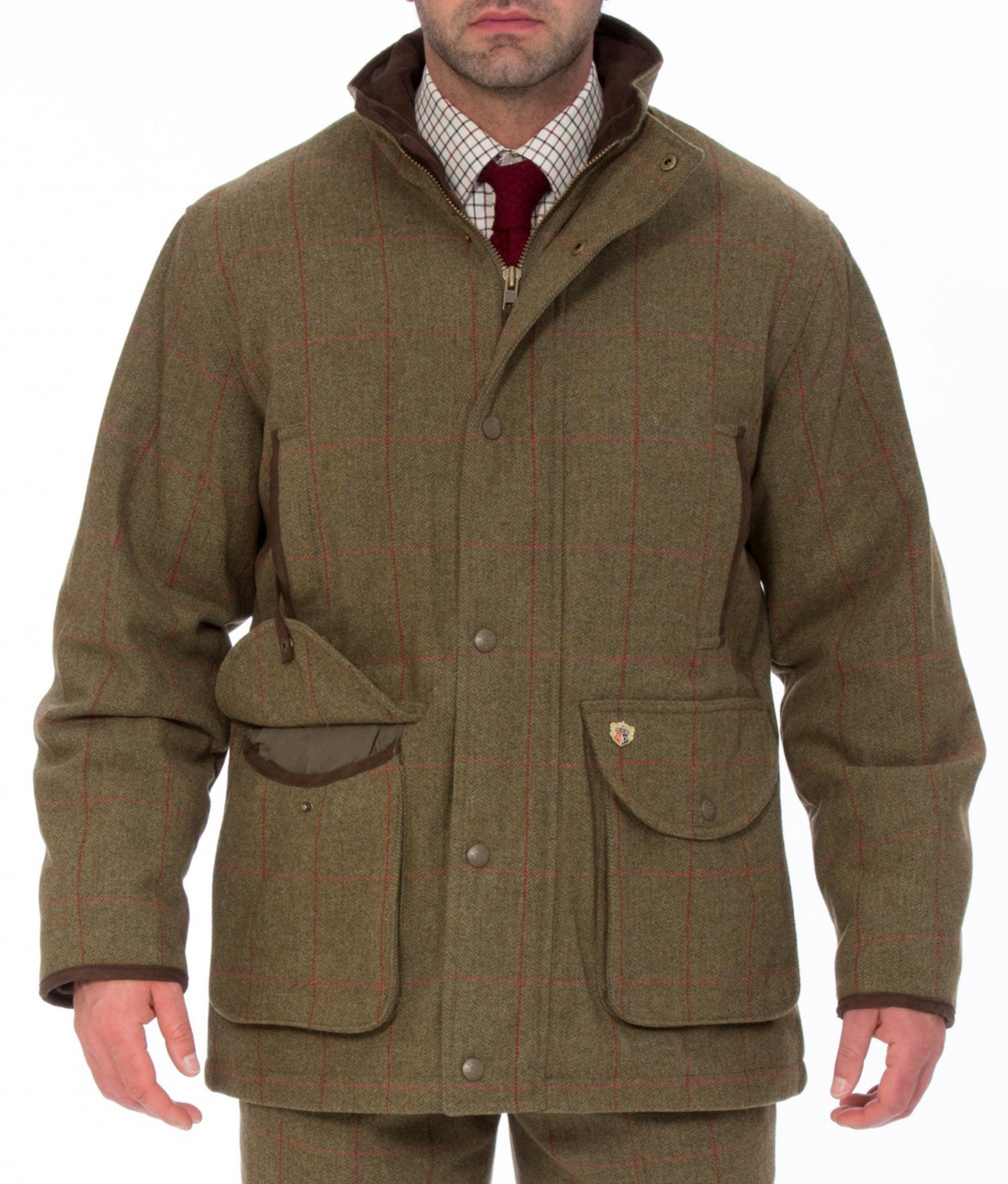 Alan Paine Combrook Field Coat - Sage
