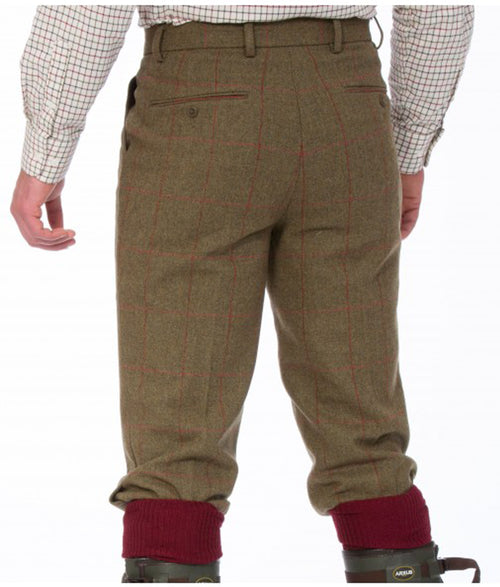 Alan Paine Combrook Tweed Breeks - Sage