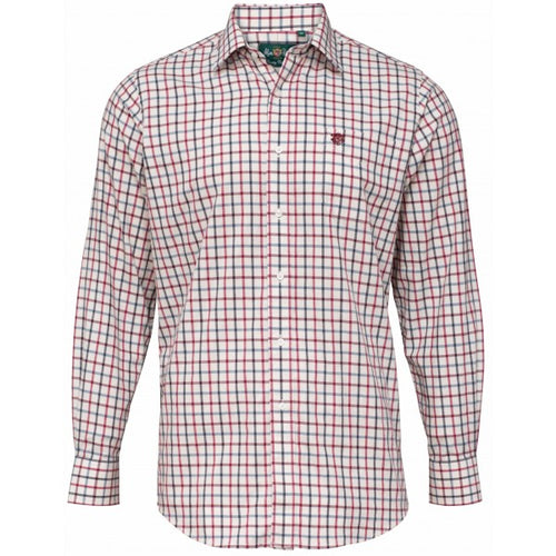 Alan Paine Ilkley Shirt - Red