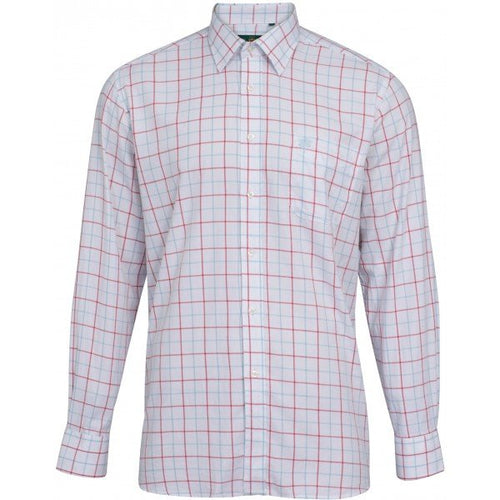 Alan Paine Ilkley Shirt - Blue/Red