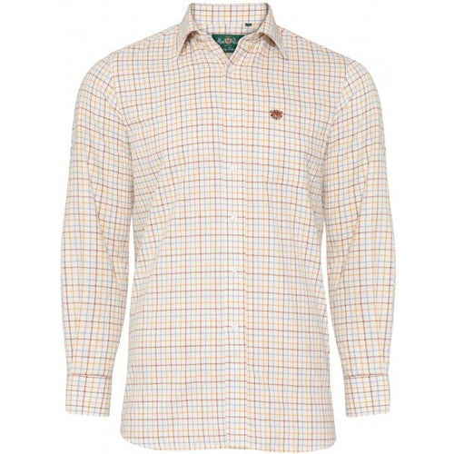 Alan Paine Ilkley Shirt - Brown