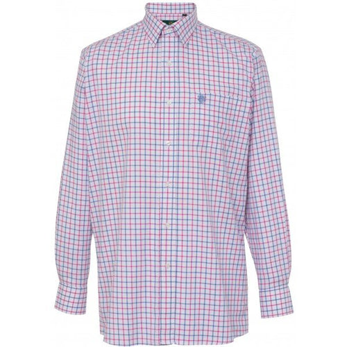 Alan Paine Ilkley Shirt - Blue/Pink