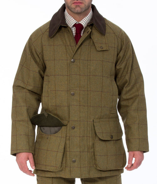 Alan Paine Rutland Shooting Coat - Lichen