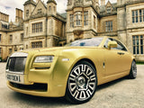 Golden Rolls-Royce - North West