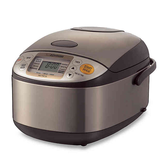 Zojirushi NS-TSC18 Micom Rice Cooker and Warmer – 1.8 Liters