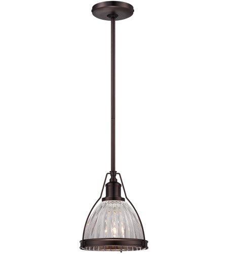 Minka Lavery Dome Indoor Mini Pendant, Dark Brushed Bronze