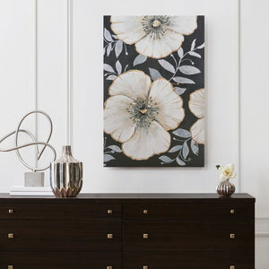 Opulence Bloom Unknow by Unknow - Wrapped Canvas Painting