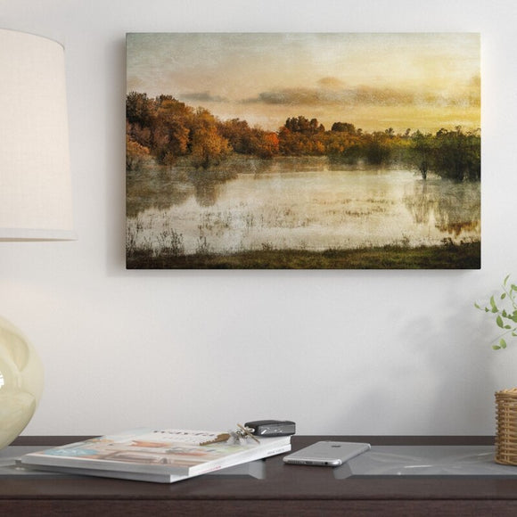 'Spring Wetlands' Print on Canvas