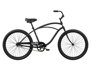 Tuesday Classic Cruiser Bicycle-Matte Black