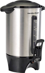 Hamilton Beach - 40-Cup Dispensing Coffee Urn - Stainless-Steel Hamilton Beach