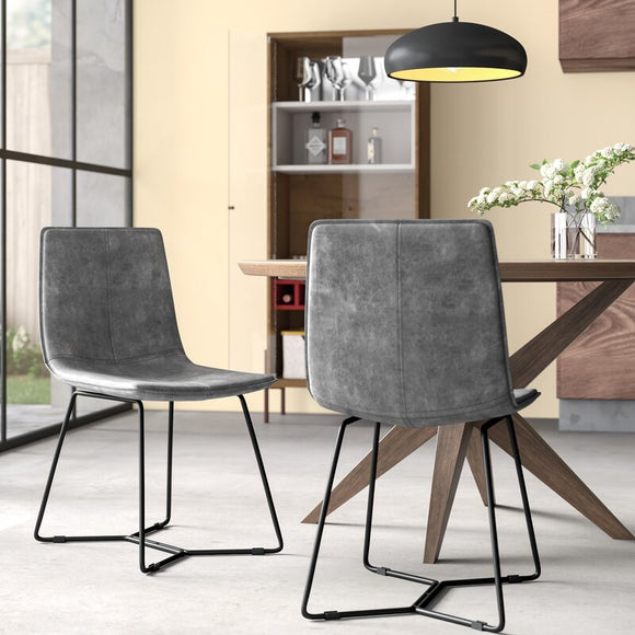 Adelyn Upholstered Dining Chairs (set of 2)