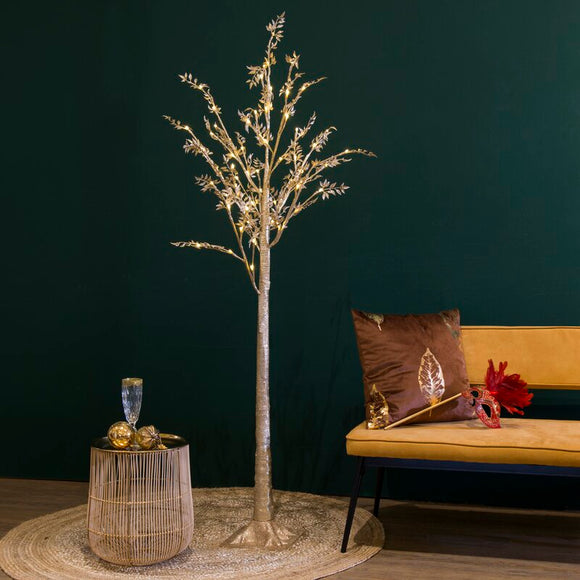 4.9 Ft. Led Champagne Tree With 64 Lights