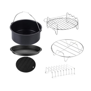 GoWISE USA Air Fryer 6 Piece Non-Stick Bakeware Set