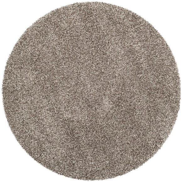 Starr Hill Grey Area Rug - Material (Round 5'1