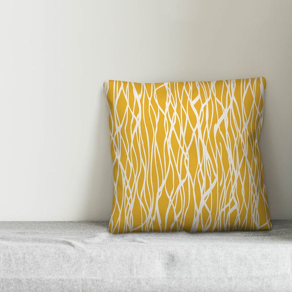Jacob Seaweed Throw Pillow