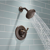 Delta Linden Venetian Bronze 1-Handle Shower Faucet