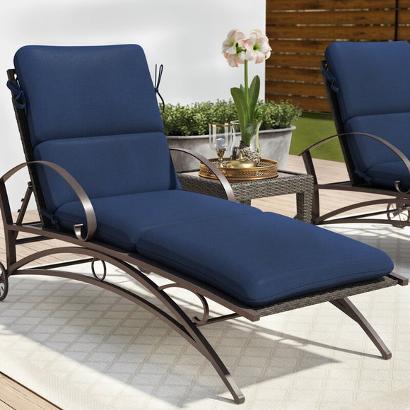 Indoor / Outdoor Sunbrella Chaise Lounge Cushion