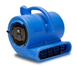 VP-33 1/3 HP Vent Commerical Carpet Dryer Air Mover, Blue