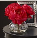 Fancy Roses Centerpiece in Vase