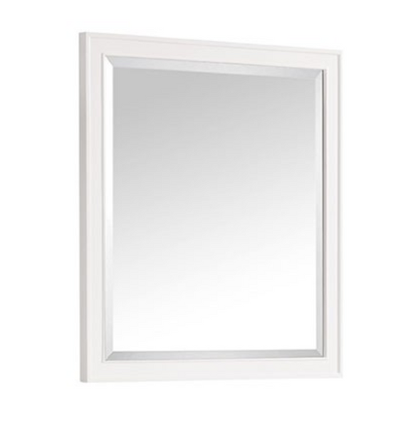 Avanity MADISON 36-Inch White Traditional Bathroom Mirror