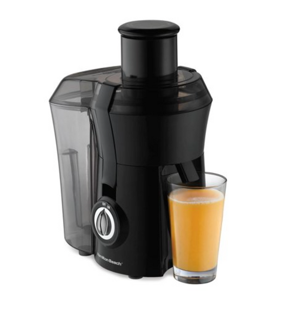 Hamilton Beach 67601A Powerful 800W Big Mouth Countertop Juice Extractor, Black