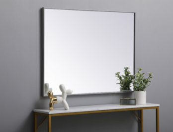 40 X 30 inch Grey Wall Mirror