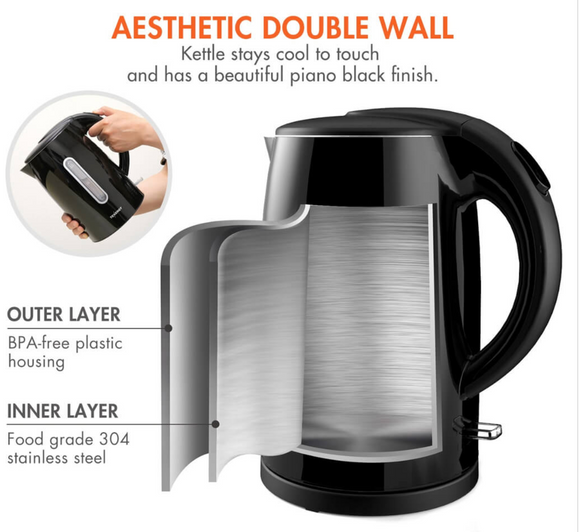 Tenergy Double Wall Electric Kettle