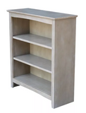 Shaker Bookcase - Washed Gray Taupe