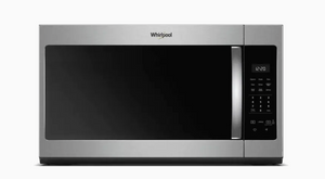 Whirlpool 1.7-cu ft Over-the-Range Microwave with Electronic Touch Controls - Fingerprint Resistant Stainless Steel- WMH31017HZ