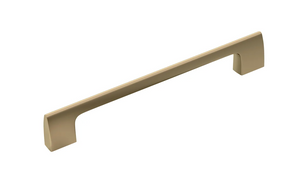 "Riva 6 5/16"" Center to Center Bar Pull - Golden Champagne"