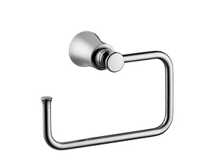 Hansgrohe Joleena Towel Ring in Chrome
