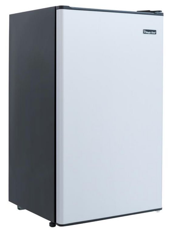 Magic Chef 3.3CU.FT.COMPACT FRIDGE  IN STAINLESS LOOK HMR330SE