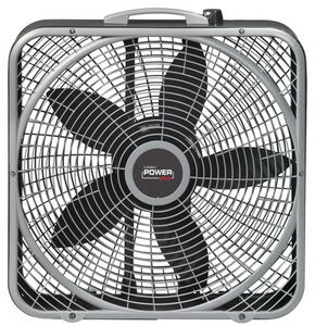 "Lasko 20"" POWER PLUS BOX FAN"