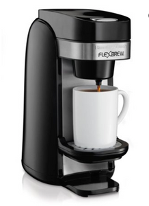 Hamilton Beach Single Serve Coffee Maker, Flexbrew (49997)