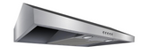 Presenza 30 in. Under Cabinet Range Hood in Stainless Steel with LED Light, 1